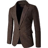 Mens Classic Blazer Party Wedding Jacket Suits Elegant Slim Fit Autumn Winter Single Breasted Vintage Retro Smart Formal…