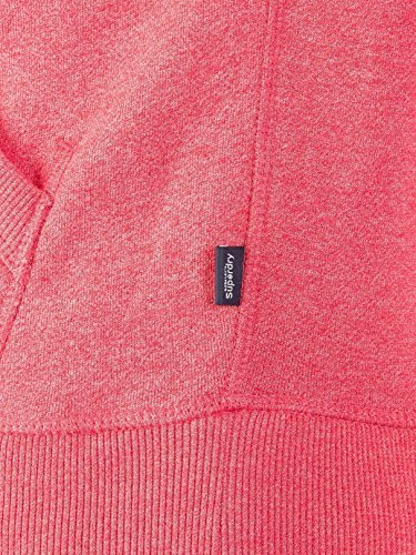 Superdry Uomo Maglieria / Felpa con cappuccio Premium Goods Duo Rosso