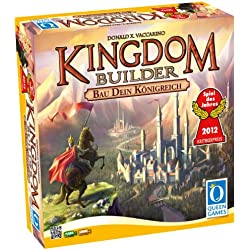 Queen Games 6083 - Kingdom Builder, Spiel des Jahres 2012 Kingdom Builder