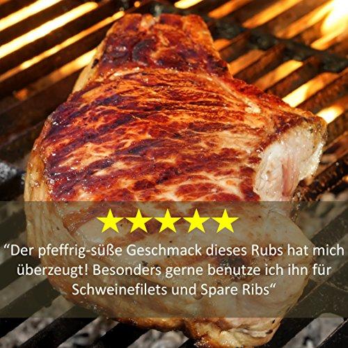 61pRBwpT6lL - BBQ-Rub Gewürzmischung Geile Sau von Grill Republic/BBQ-Gewürz für Schweinefleisch/Premium Schweinefleisch-Gewürz für Spared Ribs/für Smoker, Grill, Ofen und Pfanne/250g