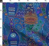 Traumzeit, Kunst Der Aborigines, Australien, Stadt,