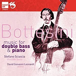 Bottesini ; Music for Double Bass and Piano