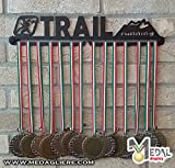 Sport Medaillen Anzeige - Medaille Wand - Medal display (TRAIL RUNNING design)