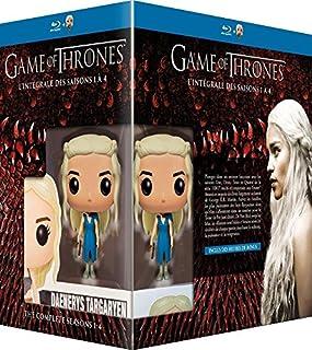 Game of Thrones (Le Trône de Fer) - L'intégrale des saisons 1 à 4 - Blu-ray - HBO [+ figurine Pop! (Funko)] (B00YZH1NJQ) | Amazon price tracker / tracking, Amazon price history charts, Amazon price watches, Amazon price drop alerts