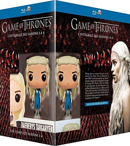 Game of Thrones (Le Trône de Fer) - L'intégrale des saisons 1 à 4 - Blu-ray - HBO [+ figurine Pop! (Funko)]