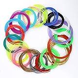 ccbetter 20Pcs 1.75MM ABS 3D Print Filament For 3D Printer Pen, Color Combinations are Random