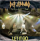 "Def Leppard Let It Go UK 45 7"" single +Picture Sleeve +Switch 625"