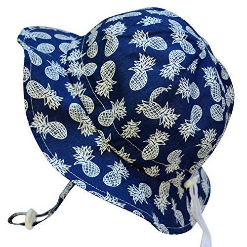 Baby Toddler Kids Breathable Sun Hat 50 UPF, Adjustable For Grow, Stay-On