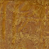 Fabric Freedom Gold Reef Design 100% Baumwolle Bali Batik tie dye Muster Stoff für Patchwork, Quilten &,–(Preis pro/Quarter Meter)