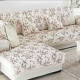Udane Bei mobili Copridivani Cuscino divano in lino Tessuto in pizzo antiscivolo Copridivano Divano antiabrasione semplice Divano Coprivetrini Non facilmente sporchi A + (Colore: F, Dimensioni: 90x160