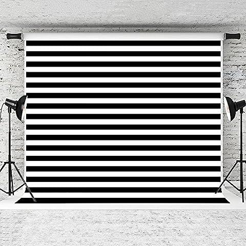 Kate Noir Blanc Bandes pour studio photo 3 x 2
