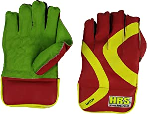 HRS Match Wicket Keeping Gloves (Multicolor)