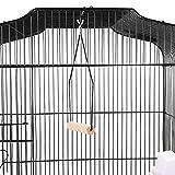 Yahee-Jaula-para-Pjaros-Jaula-Metlica-para-Mascota-Aves-Loros-Canarios-46-x-36-x-92-cm