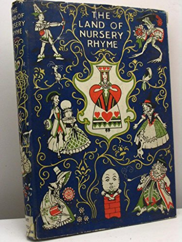 The land of nursery rhyme as seen by Alice Daglish and Ernest Rhys. With a map and pictures drawn by Charles Folkard