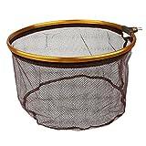 MagiDeal Epuisette de Pêche Filet en Acier Inoxydable pour Poisson Carpe Truite - 35cm