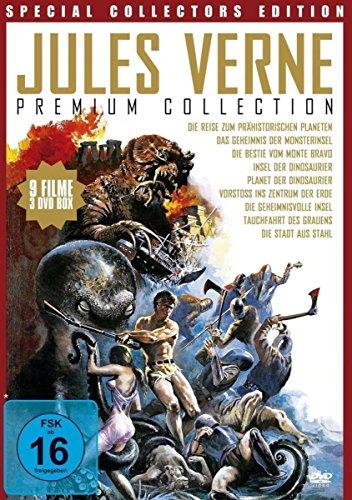 Bild von Jules Verne Premium Collection [3 DVDs]