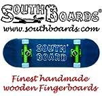 Komplett Fingerskateboard BL/GR/BL SO...