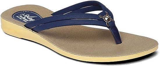 PARAGON SOLEA Women's Blue Flip-Flops