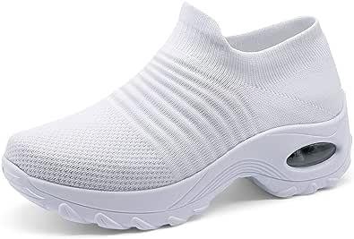 ZHR Women Slip On Walking Shoes Casual Trainer