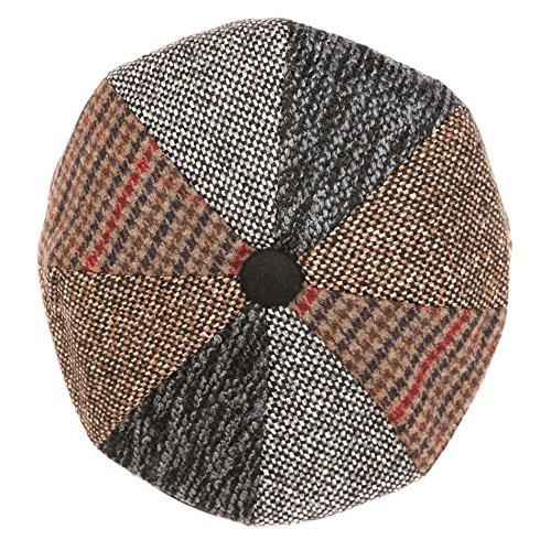 sakkas-nsb1912-jay-gatsby-8-panel-wool-newsboy-paperboy-snap-brim-cap-hat-multi-xl