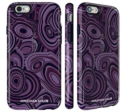 Speck 73990-5128 CandyShell Johnathan Adler Peacock Glänzende Harte Schutzhülle für Apple iPhone 6/6S (4,7 Zoll) velino-teal malachite-lila/berry-schwarz