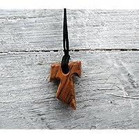 Tau Cruz de San Francisco de Asís Cruces de madera de olivo 1 Esp