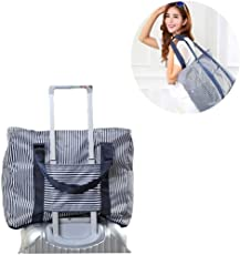 Panzl Fabric Foldable Waterproof Travel Storage Carrying Bag, (Multicolour, 8.9450881535e+012)
