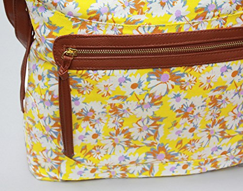Other, Borsa a spalla donna Large Daisy Yellow