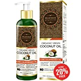 #10: Morpheme Remedies Pure ColdPressed Organic Virgin Coconut Oil For Hair & Skin - 120ml