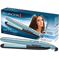 Remington S7300 Fer à Lisser, Lisseur sur Cheveux Mouillés ou Secs Wet2Straight, Soin Anti-Frizz, Plaques Flottantes XL Advanced Ceramic