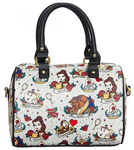 109ae6be7 Obtener Loungefly Disney - Bolso de mano La Bella y la Bestia ...