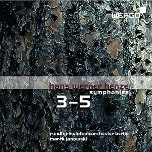 Henze: Sinfonien Nr. 3-5