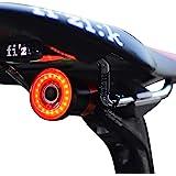 1 one enjoy Luce Posteriore Smart Bike Ultra Bright, Luce accendisigari Ricaricabile per Moto, IPX6 Luci LED per Bicicletta I