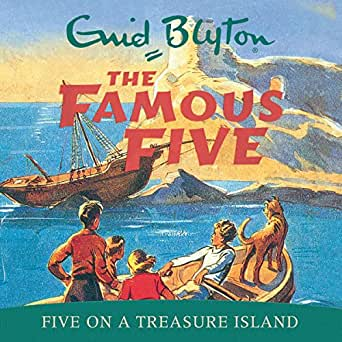 Famous Five On Treasure Island Audiobook