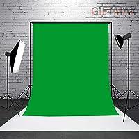 GiftMax 8 x12 FT Green Color LEKERA Backdrop Photo Light Studio Photography Background (Green)