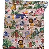 Webest Reißverschluss, wasserdicht, Baby-Wickeltaschen mit Tasche tier