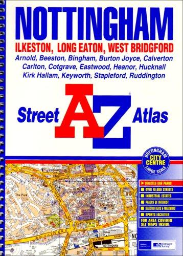 A-Z Nottingham Atlas (Street Atlas) for sale  Delivered anywhere in UK