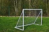 POWERSHOT Fußballtor FUN 2,4 x 1,5m aus uPVC Klicksystem und Zubehör