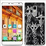 Yrlehoo Für Elephone S3, Premium Softe Silikon Schutzhülle für Elephone S3 Tasche Case Cover Hülle Etui Schutz Protect, Giraffe