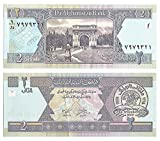 Zubehör für Sammler - Die Zentralbank von Afganistan / 2 Afgans / Crisp und uncirculated Note 2002 / Original Papiergeld ausgegeben