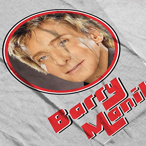 Barry Manilow Retro Photo Frame Women's T-Shirt Heather Grey