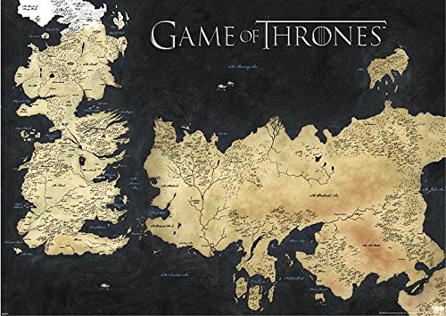 Game of Thrones Poster - Die sieben Königreiche (Eiserne Thron-poster)
