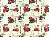 Baumwollstoff Cars