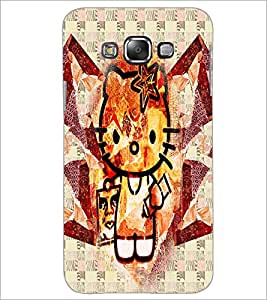 PrintDhaba Kitty D-4970 Back Case Cover for SAMSUNG GALAXY A8 (Multi-Coloured)