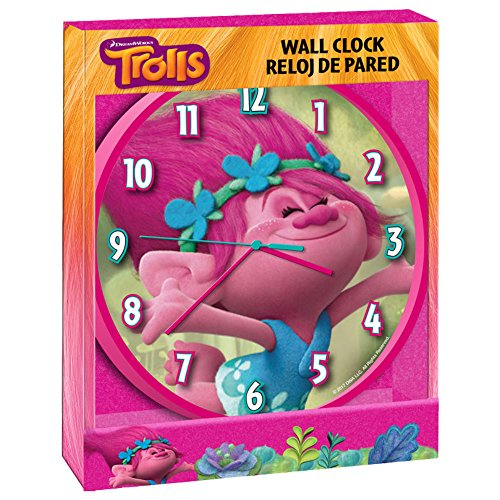 Reloj de pared de Trolls (12/12)