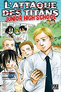L'Attaque des Titans - Junior High School Edition simple Tome 3
