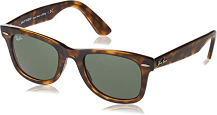Ray-Ban UV Protected Wayfarer Unisex Sunglasses - (0RB434071050|50|Green Color)