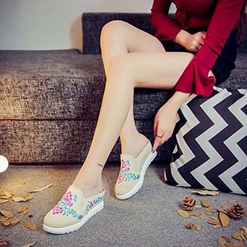 Icegrey - Pantofole Donna Beige