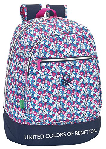 Safta United Colors Of Benetton Mochila Escolar 46 Cm