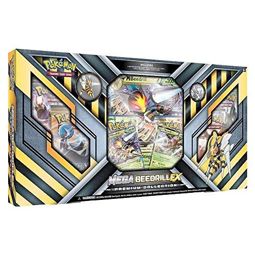 Pokemon POK80169 TCG Mega Bibor EX Premium-Collection Kartenspiel (Pokemon Mega-card-box)